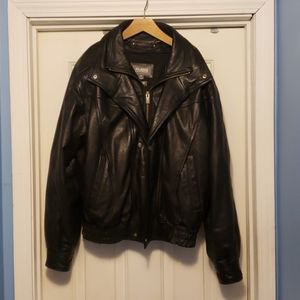 Wilson's leather  motorcycle jacket thinsulate